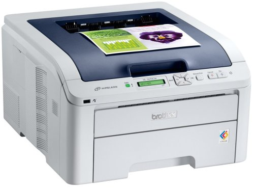 Brother HL3070CW Compact High Speed Wireless A4 Colour LED Printer