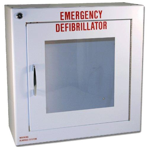 [해외]First Voice TS180SM 중간 표면 실장 표준 AED 캐비닛, 14 너비 x 14 높이 x 6.25 깊이/First Voice TS180SM Medium Surface Mounted Standard AED