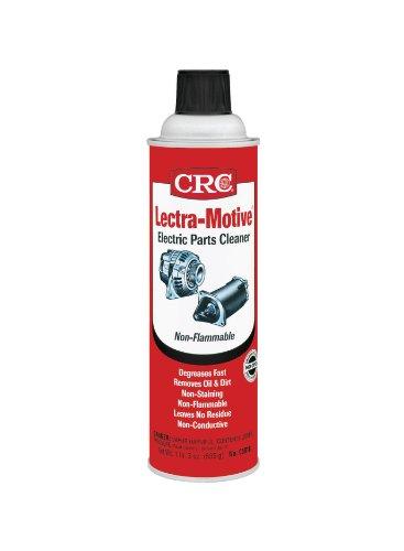 Crc Lectra Motive Cleaner 19 Oz. Use On Alternators,Starters,Distributors,Ac, Portable Tools