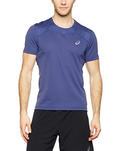 Asics T-Shirt Race blau