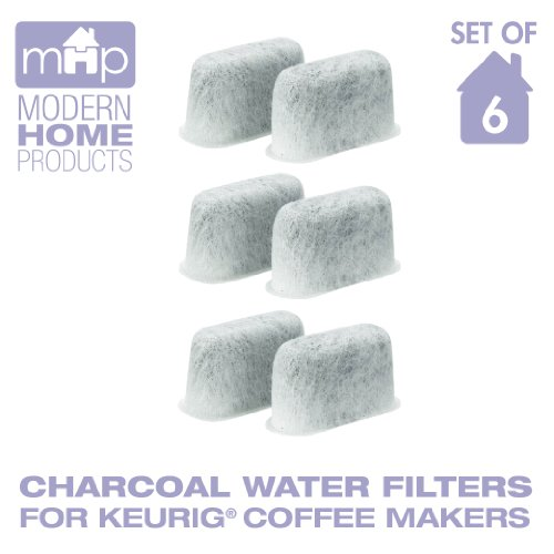 Charcoal Water Coffee Filter Cartridges, Replaces Keurig 05073 Charcoal Water Coffee Filters- Set Of 6