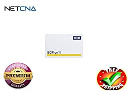 HID ISOProx II 1386 - RF proximity card- With Free NETCNA Printer Cable - By NETCNA