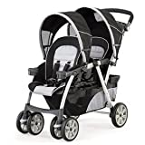 41wzff8f29L. SL160  Chicco Cortina Together Double Stroller Romantic   Chicco 00079043430070