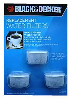 Black & Decker Water Coffee Filter