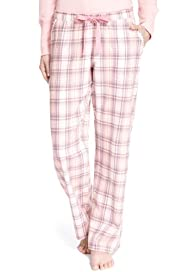 Limited Collection Pure Cotton Checked Pyjama Bottoms [T37-9145-S]