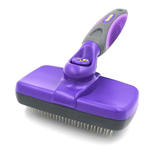 Hertzko Self Cleaning Slicker Brush (Small Dog Brush Long Hair compare prices)