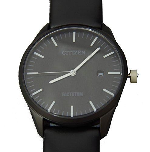 ファクトタム×シチズン 限定モデル腕時計 エコドライブ 黒 並行輸入品