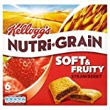 Kellogg's Nutri Grain Soft & Fruity Strawberry 6 X 37G