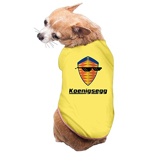 masha-sunglass-with-koenigsegg-car-logo-coats-doggy-t-shirts-dog-puppy-size-l-color-yellow