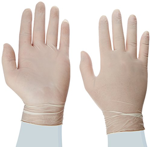 Disposable Latex Gloves, Powder Free size medium, 100 gloves per box (Chef Disposable Gloves compare prices)