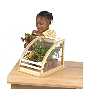 Tabletop Greenhouse w/ Vegetable Garden Kit