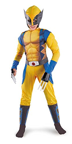 Wolverine Bodysuit Mens Costume 50-52 Adult Mens Costume - Disguise