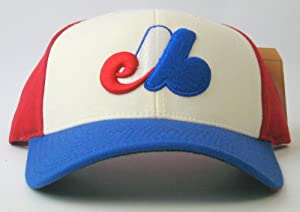 Montreal Expos American Needle Cooperstown 500 Retro 1983 Leather Backstrap Cap by American Needle