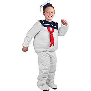 Child's Stay Puft Marshmallow Man Halloween Costume