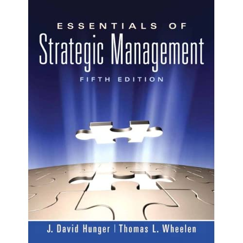 Essentials of Strategic Management 5th Edition