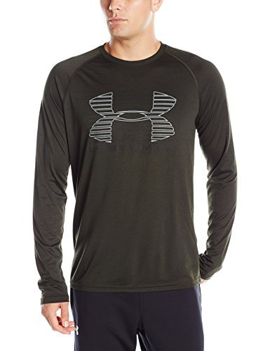 Under Armour Tech Rise Up Sportstyle Artillery Men's Sports T-Shirt green Size: L (Manufacturer Size: LG) by Under Armour