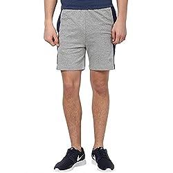 Ajile by Pantaloons Men's Shorts 205000004461645_Grey Melange_XL