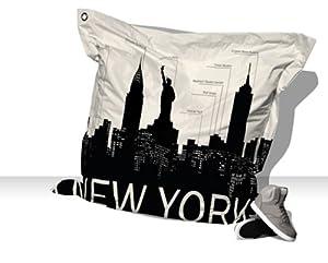 COUSSIN/POUF NEW YORK SKYLINE: Jardin