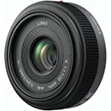 Panasonic LUMIX G 20mm f/1.7 Aspherical Pancake Lens for Micro Four Thirds
