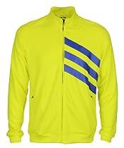 Adidas Mens FP Full Zip Athletic Lightweight Layering Jacket (X-Large, Sunburst Yellow)