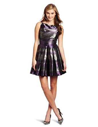 BB Dakota Women's Jensine Dress, Purple, 4