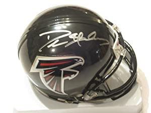Deion Sanders Hall of Fame Signed Autograph Atlanta Falcons Mini Helmet Authentic... by Riddell