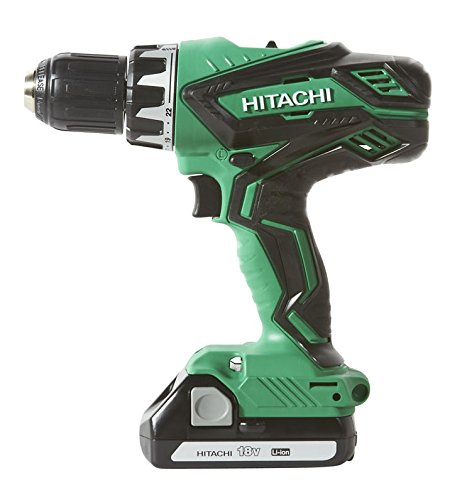 Hitachi KC18DGL 18-Volt Cordless Lithium Ion Driver Drill and Impact Driver Combo Kit (Lifetime Tool Warranty) via Amazon
