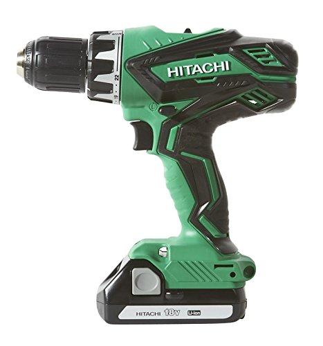 Hitachi KC18DGL 18-Volt Cordless Lithium Ion Driver Drill and Impact Driver Combo Kit (Lifetime Tool Warranty) via Amazon