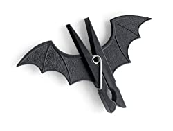 GeekGoodies Bat Batman Clip Pegs Clothes Hanger Clip Set of 2