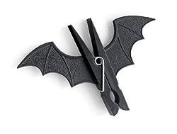 GeekGoodies Bat Batman Clip Pegs Clothes Hanger Clip Set of 2