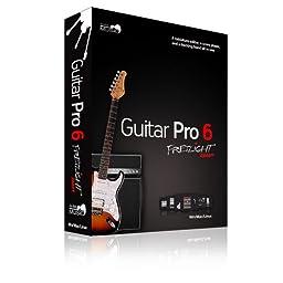 Fretlight GP6FR Guitar Pro 6 Fretlight Ready Tablature Software