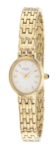Rotary LB02084/02 Ladies Gold PVD Stainless Steel Bracelet Watch