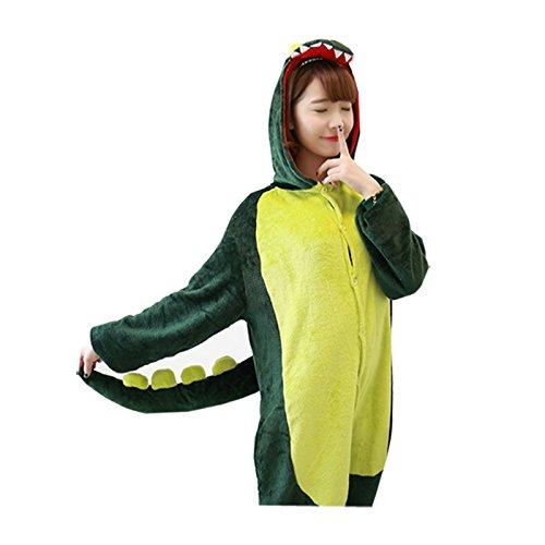 Artikelbild: Dis Halloween Kostüme Kigurumi Nachtwäsche (Dinosaurier)