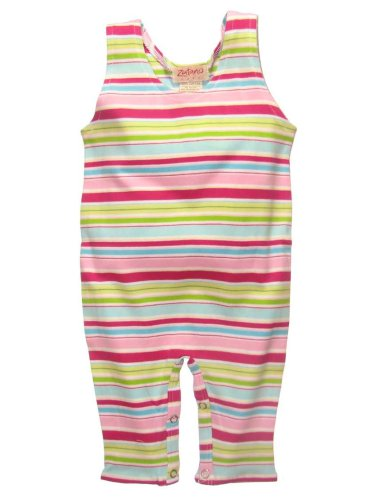 Fairground Stripe Overall by Zutano - Buy Fairground Stripe Overall by Zutano - Purchase Fairground Stripe Overall by Zutano (Zutano, Zutano Apparel, Zutano Toddler Girls Apparel, Apparel, Departments, Kids & Baby, Infants & Toddlers, Girls, Pants)