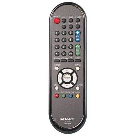 OEM Sharp Remote Control: LC60LE600U, LC60LE6300UB, LC60LE845, LC70LE600U, LC60LE600, LC-60LE600U, LC-60LE6300UB, LC-60LE845, LC-70LE600U, LC-60LE600 (Sharp Lc70le600u compare prices)