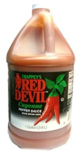 Trappey's Red Devil Cayenne Pepper Sauce - 1 Gallon