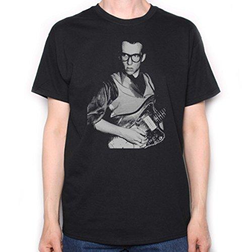 Elvis Costello-T shirt, On Stage nella speranza & Anchor-Portafoto new wave foto