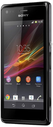 Sony Xperia M Dual-Sim Smartphone (10,2 cm (4 Zoll) Touchscreen, Qualcomm, 1GHz Dual-Core, 5 Megapixel Kamera, 1GB RAM, Android 4.1) schwarz