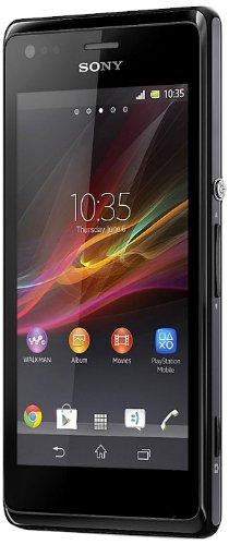 Sony Xperia M Smartphone double SIM (10,16cm (4pouces) Écran tactile, Qualcomm, 1GHz Dual Core, appareil photo 5Mpx, 1GB de RAM, Android 4.2)