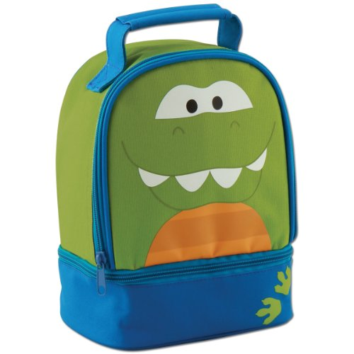 Stephen Joseph Lunch Pals Dino Lunch Box front-919602
