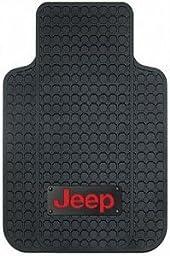 PlastiColor Jeep Logo Car Floor Mats