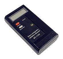 PWOW® Electromagnetic Radiation Detector Dosimeter Tester EMF Meter - Black