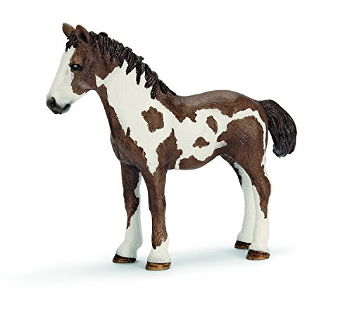 Schleich Pinto Yearling Toy Figure - 1