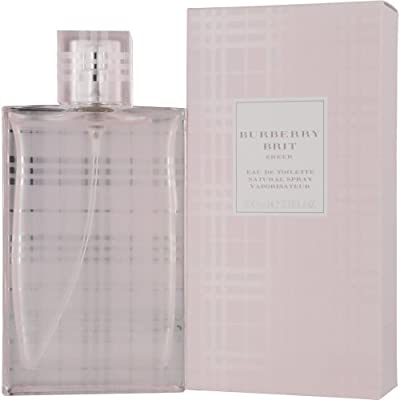 Burberry Brit Sheer By Burberry For Women Edt Spray 33 Oz from BURBERRY BRIT SHEER