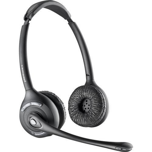 """Plantronics, Inc - Plantronics Cs520 Over-The-Head Binaural - Stereo - Wireless - Dect - 350 Ft - Over-The-Head - Binaural - Semi-Open - Noise Cancelling Microphone """"Product Category: Audio Electronics/Headsets/Earsets"""""""
