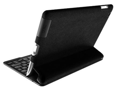 Zagg Profolio+ Ultrathin Case With Backlit Bluetooth Keyboard For Ipad 2/3/4-Mocha Leather