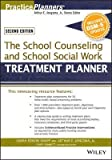 img - for [(The School Counseling and School Social Work Treatment Planner, with DSM-5 Updates)] [Author: Sarah Edison Knapp] published on (January, 2015) book / textbook / text book