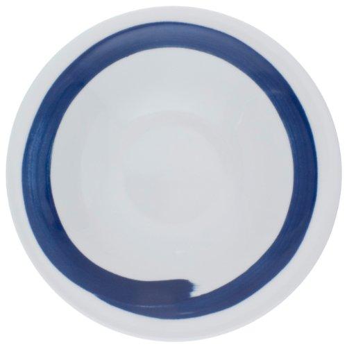 Kahla - Porcelaine pour les Sens 323438A73332C Update Eurasia Assiette à Pâtes Blanc/Bleu 22 cm