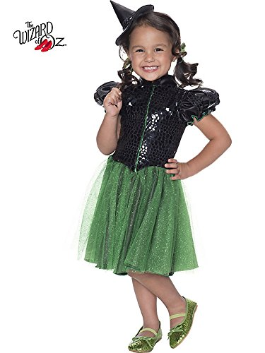 Rubie's Costume Wizard of Oz Wicked Witch Sequin Dress Child Costume