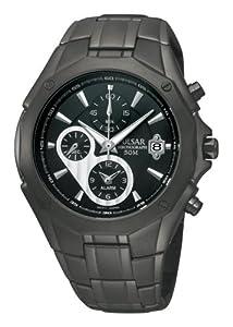 Pulsar Men's PF3961 Chronograph Black Dial Watch